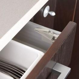 Set sistem de siguranta pentru sertarele superioare BebeduE