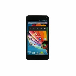 Smartphone MediaCom PhonePad Duo G501 Dual Sim 5 Inch Quad Core 4 GB 512MB RAM Android Albastru