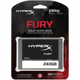 SSD Kingston HyperX Fury 240 GB SATA 3 2.5 inch
