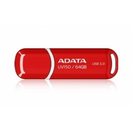 Stick memorie USB AData UV150 , 64 GB , USB 3.0 , Rosu