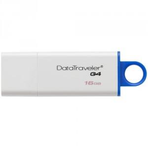 Stick memorie USB Kingston Data Traveler IG4 , 16 GB , USB 3.0 , Alb/Albastru