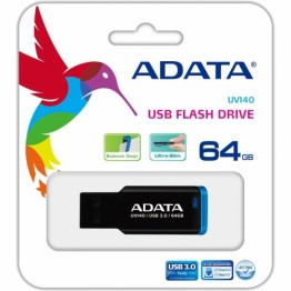 Stick memorie USB AData UV140 64GB USB 3.0 Negru