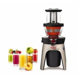 Storcator de fructe si legume Tefal Infiny Press Revolution ZC500H38, putere 300 W, recipient suc 1 l, recipient pulpa 1 l, 1 viteza