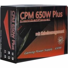 Sursa Inter-Tech 650 W Combat Power Plus , 650 W , ATX 2.2 , Quad Rail