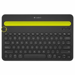 Tastatura Logitech Multi device K400 , Fara Fir , Multimedia , Bluetooth , Negru