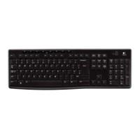 Tastatura Logitech K270 , Multimedia , Fara Fir , USB Logitech Unifying receiver . Negru