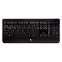 Tastatura Logitech Multimedia , Fara Fir , Iluminare LED , USB Logitech Unifying receiver , K800