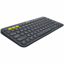 Tastatura mini wireless Logitech K380 Gri