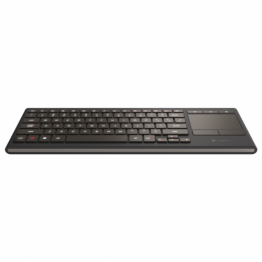 Tastatura wireless Logitech iluminare LED K830 , Multimedia , Bluetooth Smart , Touchpad , Negru