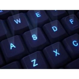 Tastatura A4Tech KD-126-1 , Iluminare LED , Negru