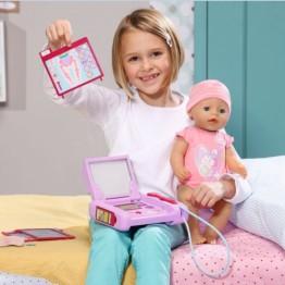Trusa medicala electronica Baby Born